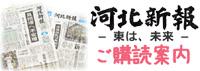 河北新報ご購読案内